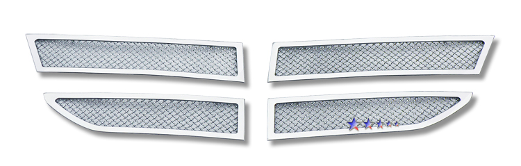 Dodge Journey Sxt 2009-2010 Chrome Main Upper Mesh Grille