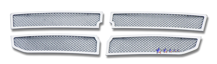 Dodge Dakota  2008-2011 Chrome Main Upper Mesh Grille