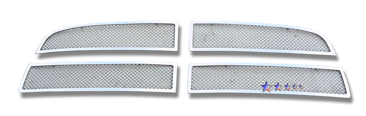 Dodge Ram 1500 Sport 2009-2012 Chrome Main Upper Mesh Grille