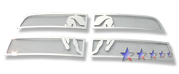Dodge Ram 3500 2010-2012 Chrome Main Upper Symbolic Grille