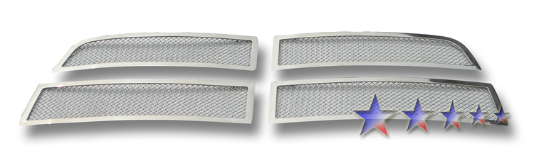 Dodge Ram 3500 2010-2012 Chrome Main Upper Mesh Grille