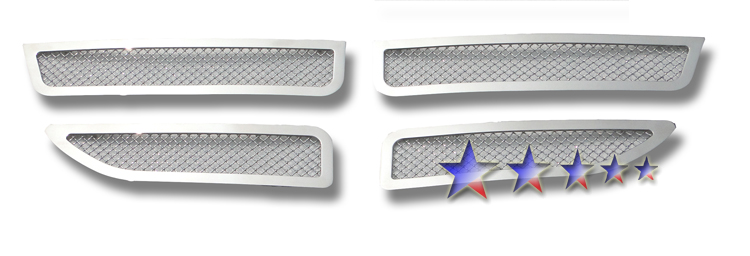 Dodge Caravan  2011-2012 Chrome Main Upper Mesh Grille