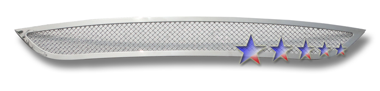 Dodge Caravan  2011-2012 Chrome Lower Bumper Mesh Grille