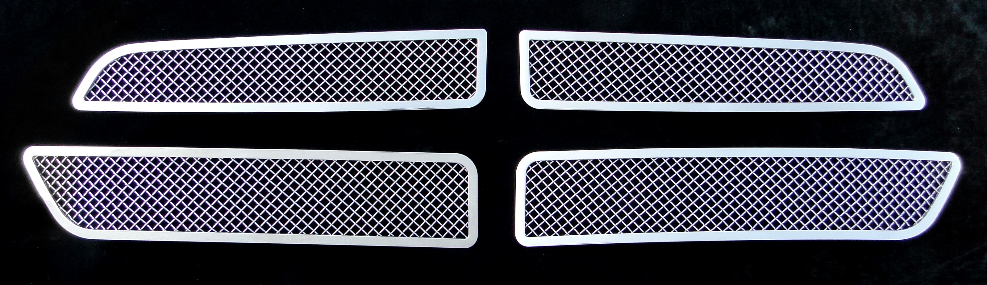 Dodge Durango  2011-2012 Chrome Main Upper Mesh Grille