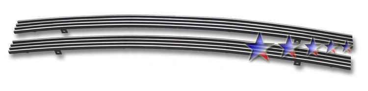 Dodge Magnum  2005-2007 Polished Lower Bumper Stainless Steel Billet Grille