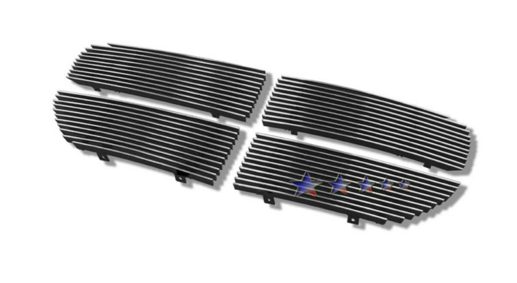 Dodge Magnum  2005-2007 Polished Main Upper Aluminum Billet Grille