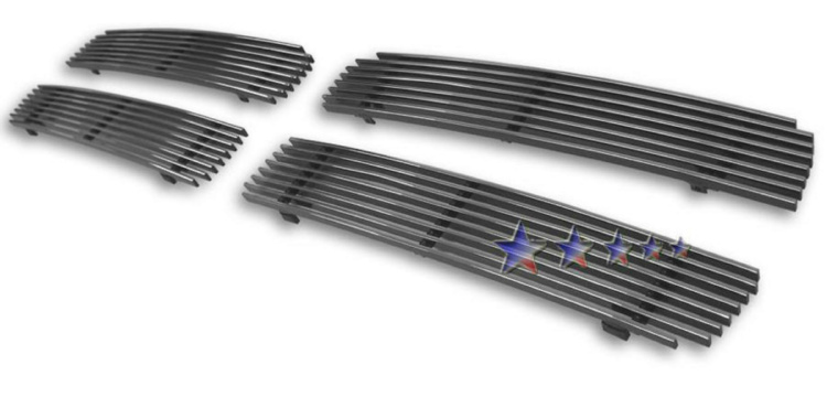 Dodge Ram Sport 1999-2001 Polished Main Upper Aluminum Billet Grille