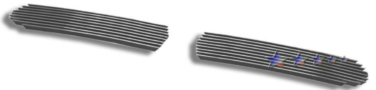 Dodge Ram Sport 1999-2001 Polished Lower Bumper Aluminum Billet Grille