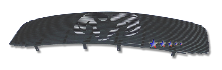 Dodge Ram  2006-2008 Polished Main Upper Symbolic Grille
