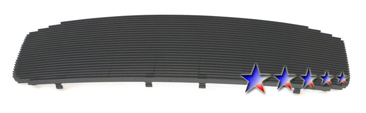 Dodge Ram  2006-2008 Black Powder Coated Main Upper Black Aluminum Billet Grille