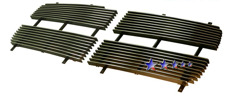 Dodge Dakota  2005-2007 Polished Main Upper Aluminum Billet Grille