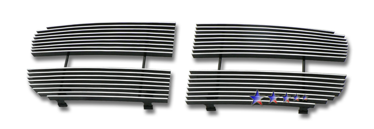 Dodge Magnum  2008-2008 Polished Main Upper Aluminum Billet Grille