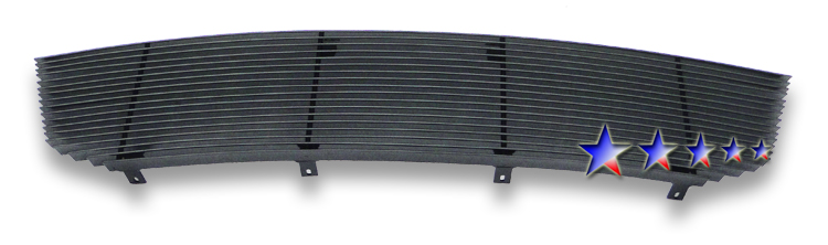 Dodge Avenger  2007-2010 Black Powder Coated Main Upper Black Aluminum Billet Grille