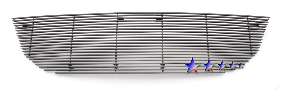 Dodge Journey  2009-10 Black Powder Coated Main Upper Black Aluminum Billet Grille