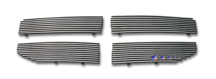 Dodge Magnum SRT8 2005-2007 Polished Main Upper Aluminum Billet Grille