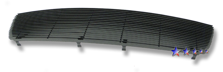 Dodge Ram 1500 St 2009-2012 Black Powder Coated Main Upper Black Aluminum Billet Grille
