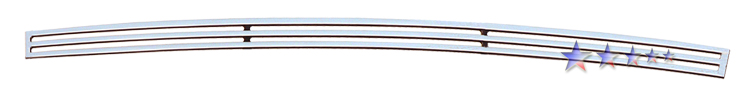 Dodge Magnum  2005-2007 Polished Lower Bumper Perimeter Grille