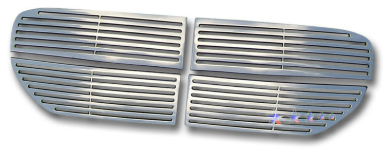 Dodge Magnum  2005-2007 Polished Main Upper Perimeter Grille