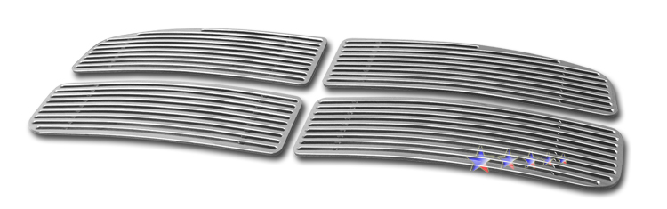 Dodge Ram  2006-2008 Polished Main Upper Perimeter Grille