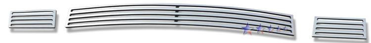 Dodge Avenger Sxt 2007-2010 Polished Lower Bumper Perimeter Grille