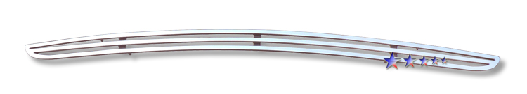 Dodge Challenger  2009-2010 Polished Lower Bumper Perimeter Grille