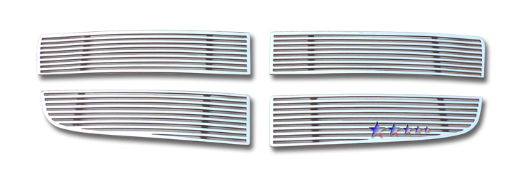 Dodge Ram 1500 Sport 2009-2012 Polished Main Upper Perimeter Grille