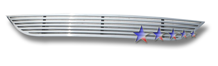 Dodge Caravan  2011-2012 Polished Lower Bumper Perimeter Grille