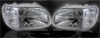 Ford Explorer 1995-2001 Crystal Headlights and Corner Lights