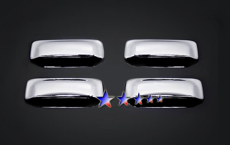 2002-2005  Ford Explorer Sport Trac  (w/o Passenger Side Keyhole) Chrome Door Handles