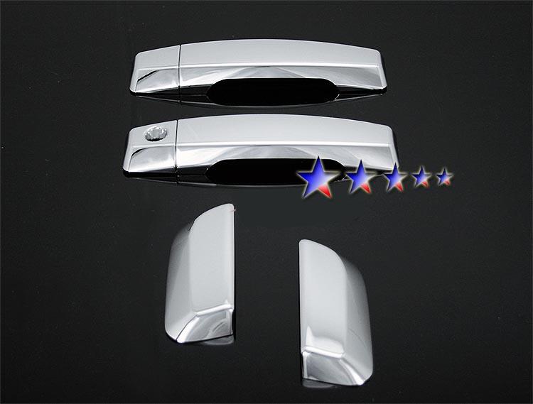 2005-2010  Nissan Armada  (w/o Passenger Side Keyhole) Chrome Door Handles