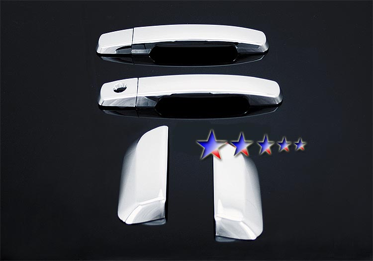 2005-2010  Nissan Pathfinder 4 Door (w/o Passenger Side Keyhole) Chrome Door Handles