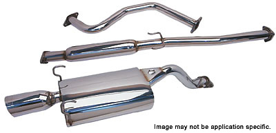 Honda Civic SI / EX 99-00 DC Sports Cat-Back Exhaust Systems