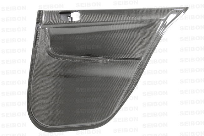 Mitsubishi Lancer Evo X 2008-2010 Carbon Fiber Door Panels (rear)