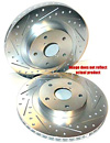 2001 Chevrolet Corvette  Cross-Drilled and Slotted Powerstop Brake Rotors Front Pair