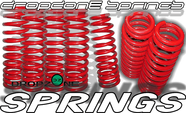 Dodge Stratus 2001-2004 4 and 6 Cylinder (Excluding Coupe) Dropzone Lowering Springs