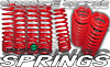 2001 VW Golf/Jetta (6cyl) -Up Dropzone Lowering Springs