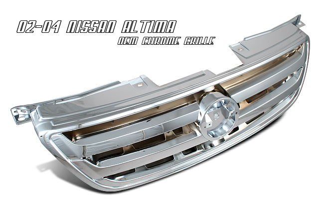 Nissan Altima 2002-2004  Factorym Style Front Grill