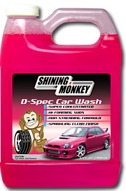 Shining Monkey D-Spec Car Wash
