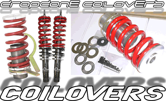 Mitsubishi Lancer 02-Up Dropzone Adjustable Coilovers