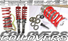 2002 Honda Accord 4cyl  Dropzone Adjustable Coilovers