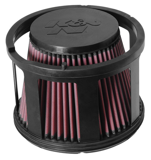 Gmc Sierra 2005-2005  3500 6.6l V8 Diesel W/Round Filter K&N Replacement Air Filter