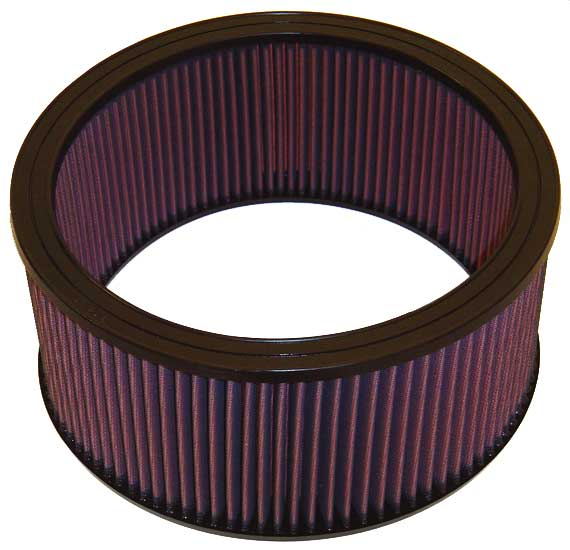 Chevrolet Full Size Pickup 1988-1991 K3500 7.4l V8 F/I 5-1/2 In Tall Filter K&N Replacement Air Filter