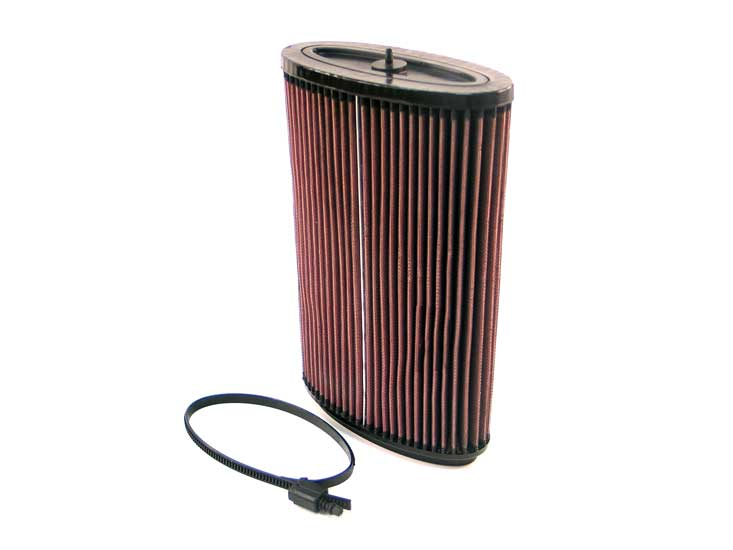 Porsche Boxster 2006-2006  3.4l H6 F/I  K&N Replacement Air Filter