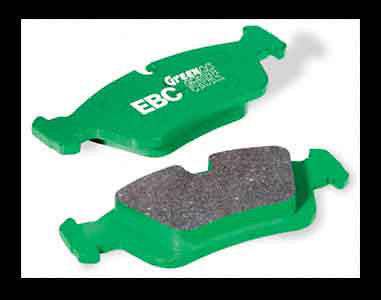 Chevrolet Callaway Corvette 1995-1997 Front Set EBC Greenstuff Brake Pads