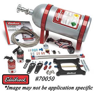 JG Edelbrock - Sport Compact NOS Dry System (Painted Bottle)