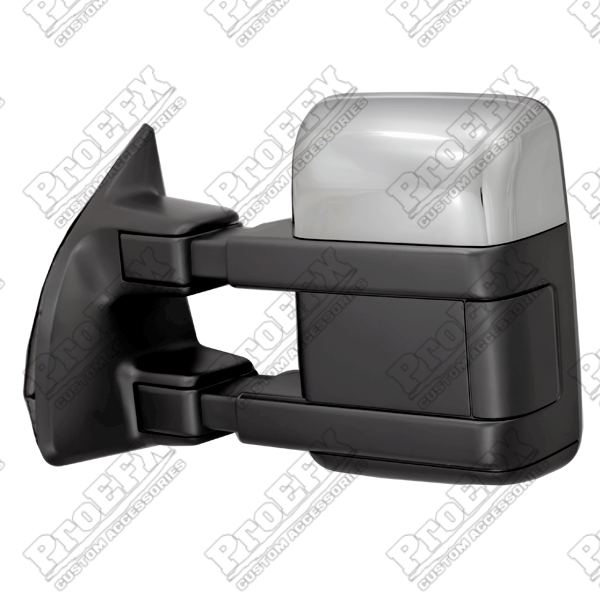 Ford Super Duty F250/F350 1999-2012 Chrome/Paintable Manual Towing Mirrors