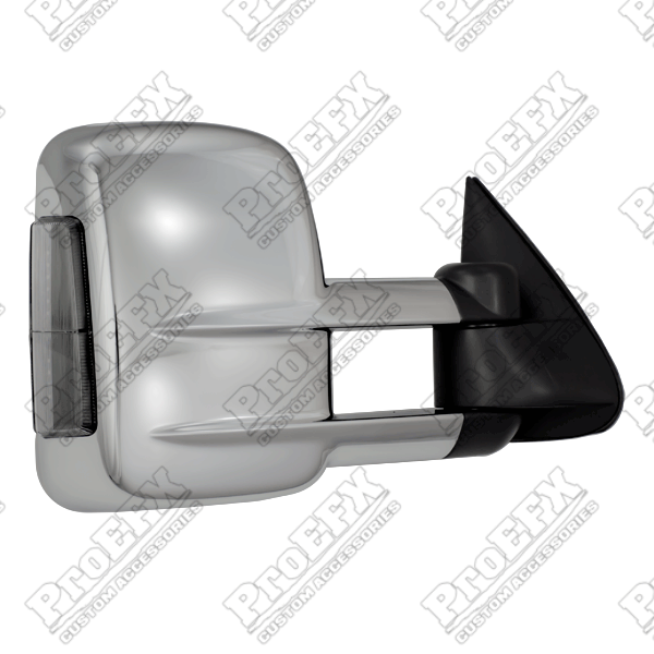 Chevrolet Silverado  2003-2007 Chrome Electric Heated Towing Mirrors