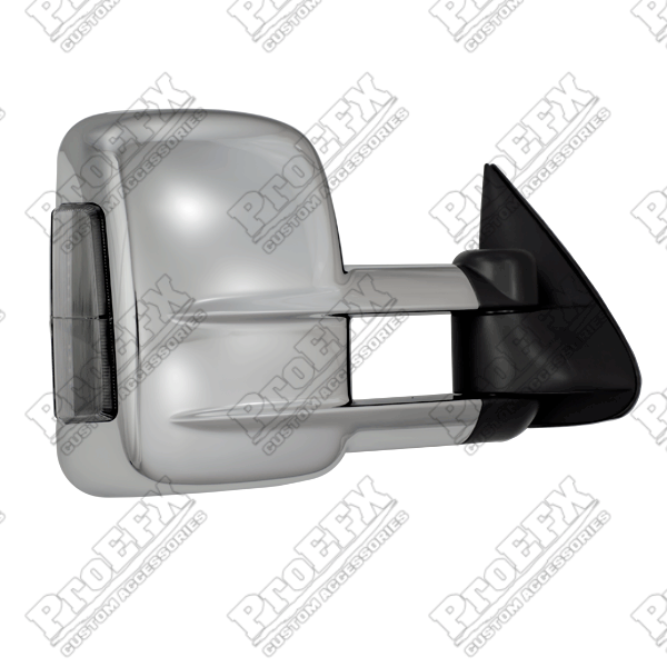 Chevrolet Silverado  1999-2002 Chrome Electric Heated Towing Mirrors