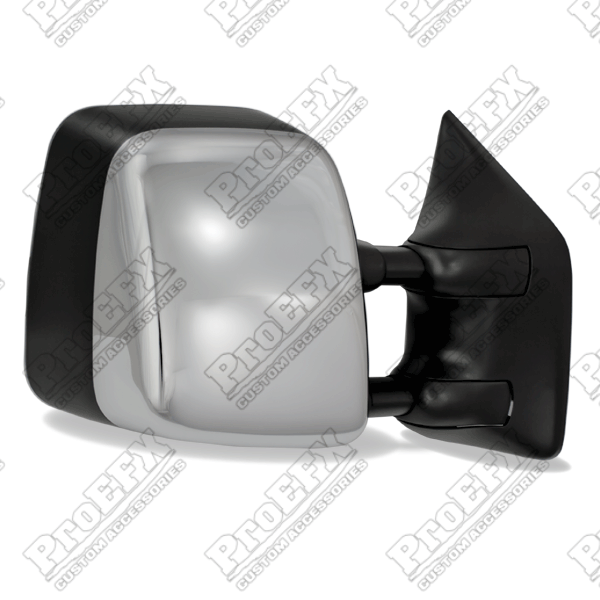 Nissan Titan  2004-2013 Chrome/Paintable Electric Heated Towing Mirrors