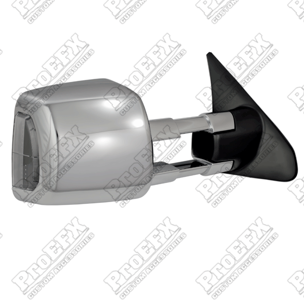 Toyota Tundra  2007-2013 Chrome Electric Heated Towing Mirrors